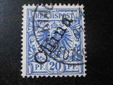 KIAUTSCHOU GERMAN COLONY Mi. #M4II scarce used forerunner stamp! CV $288.00