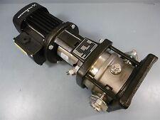 "New Grundfos Centrifugal Pump CRI3-3 B-CAB-IX-E-HQQE .75HP 60HZ 1"""