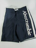 Abercrombie & Fitch (A&F) Men's Swim Trunks / Board Shorts Blue Size S