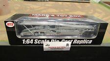 Mtb-1631 Silver 5 Car TRANSPORTER Carrier Trailer 1 64 SpecCast
