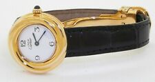 Cartier Must de Cartier 2735 Vermeil GP Sterling elegant quartz ladies watch