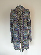 Wool vest by Comma in Missoni style, size 12