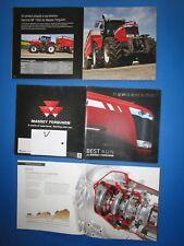 V/ MASSEY FERGUSON  tracteur 7619,7620,7622,7624 catalogue français 2011