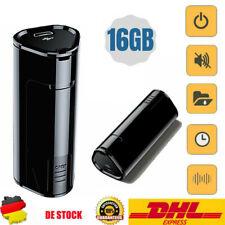Mini 16GB Diktiergerät Voice Recorder Aufnahmegerät Sprachaufnahme Diktiergerät