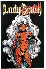 Lady Death Ii Between Heaven & Hell #4 Lady Demon variant~Pullido~Hughes~Nm /M