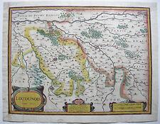 Loudun poiton-Charentes FRANCE France Kolor cuivre clés carte 1627