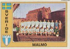 N°276 MALMO.FF TEAM EURO FOOTBALL 76 STICKER PANINI FIGURINE SWEDEN SVERIGE