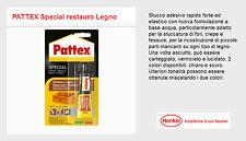 Stucco adesivo per legno Henkel PATTEX Special restauro Legno scuro 50gr