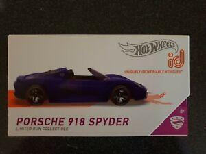 Hot Wheels id PORSCHE 918 SPYDER