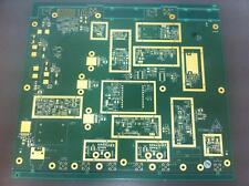 10xHigh Yield dbl sided Gold Plated PCB for Scrap/Recovery 245X220mm/200Grm each