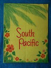 South Pacific - Theatre Souvenir Program - 1954 - Iva Withers - Webb Tilton