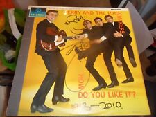 GERRY AND THE PACEMAKERS HOW DO YOU LIKE IT SIGNED VINYL ALBUM
