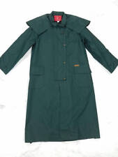 New!  Driza-Bone Heavy Weight Oilskin Riding Coat - RRP $319 - Green Size 2