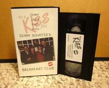 DENNY SCHAFFER Breakfast Club VHS Toledo OHIO 92.5 KISS FM radio DJ 1000th Show