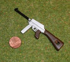 VINTAGE ACTION MAN 40th FRENCH RESISTANCE FIGHTER 7.65 SUB MACHINE GUN NO STRAP