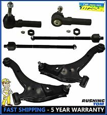 6 Pc Kit Front Lower Control Arm Inner & Outer Tie Rod End Dodge Neon Pt Cruiser