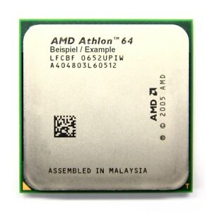 AMD Athlon 64 3500+ 2.2GHz/512KB ADH3500IAA4DE Socket/Socket AM2 Processor CPU