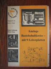ELEKTRONIK - Analoge Bastelschaltkreise - MV Bauplan Nr. 42 (1980)