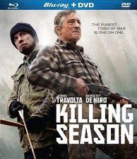 Killing Season (Blu-ray/DVD, 2013, 2-Disc Set) Travolta, De Niro, Brand New