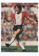 Steve williams southampton 1975-1985 original hand signed magazine cutting