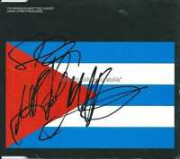 MANIC STREET PREACHERS AUTOGRAPHS *MASSES FOR THE CLASSES* SIGNED CD COVER