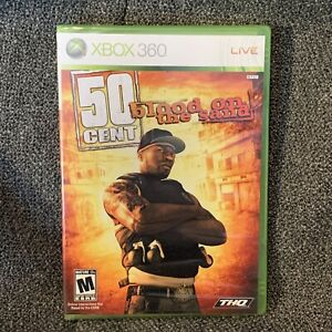 50 Cent: Blood on the Sand (Microsoft Xbox 360, 2009) Brand New Sealed