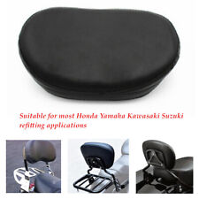 Motorcycle Rear Shelf Seat Support Cushion Foam Pack Backrest Pad  Waterproof