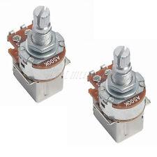 2pcs A500k Guitar Bass Push Pull Control Pots Potentiometers