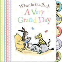 Winnie-the-Pooh a Very Grand Day-ExLibrary