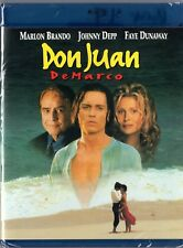 Don Juan de Marco (Blu-ray Disc, 2012) Johnny Depp, Marlon Brando  BRAND NEW
