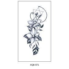 Blumen Tattoo Festival Tattoos Fake Tattoo Aufkleber XQB071