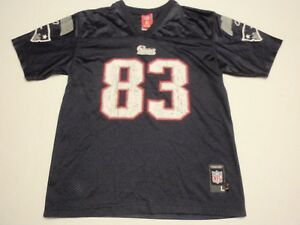 Wes Welker New England Patriots Reebok NFL Jersey Size Youth Large(14-16) #83