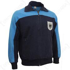 Original German Army Sports Training Jacket - Surplus Coat Top Bundeswehr Blue