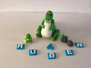 Dinosaur T-Rex tyrannosaurus T. Rex handmade 3D edible cake topper decoration