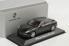 Porsche Panamera Turbo Black Minichamps 1:43 Wap Dealer
