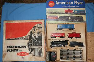 "American Flyer #20605 ""The Arrow"" Freight Train Set w/21105, #24066, #24225"