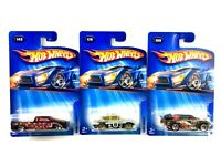 Lot of 3 Mixed 2004 Hot Wheels Collectible Mattel Toy Cars Age 3+ New & Sealed