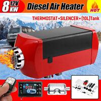 12V 8000W Diesel Air Heater Kit Low Noise For Trucks Boat Trailer   h