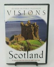 VISIONS OF SCOTLAND - COAST TO COAST TOUR DVD, ANCIENT CITIES, HELICOPTER CAM.