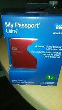 WD MY PASSPORT ULTRA 1TB BRAND NEW USB3.0 WDBZFP0010BRD