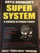 Doyle Brunson Super System