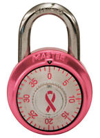 Master Lock  1-7/8 in. 3-Dial Combination  Steel  Combination Padlock