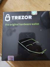 Trezor Hardware Wallet  White