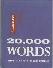 B002QJ5K8K 20,000 Words Spelled and Divided for Quick Reference