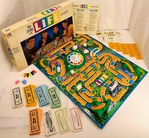1991 Game of Life by Milton Bradley Complete in Very Good Condition FREE SHIP