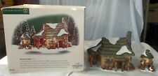 Dept 56 Dickens Village McShane Cottage Set of 2 In Box 56.58444 Christmas