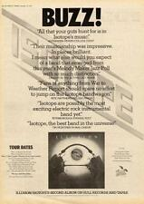 Isotope 1974 UK tour/advert MM-BUZZ
