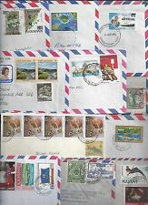 Uk Gb British Commonwealth 1950's 80's Collection Of 25 Commercial Covers Severa