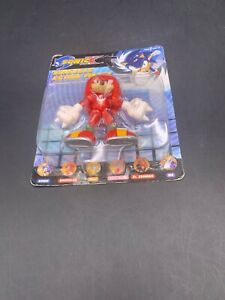 Sonic X  Bendable Knuckles Action Figure B