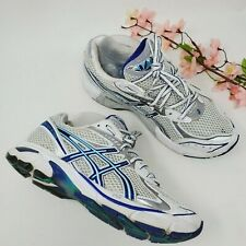ASICS GT 2160 Womens White & Blue Running Shoes Size US 9 Euro 40.5